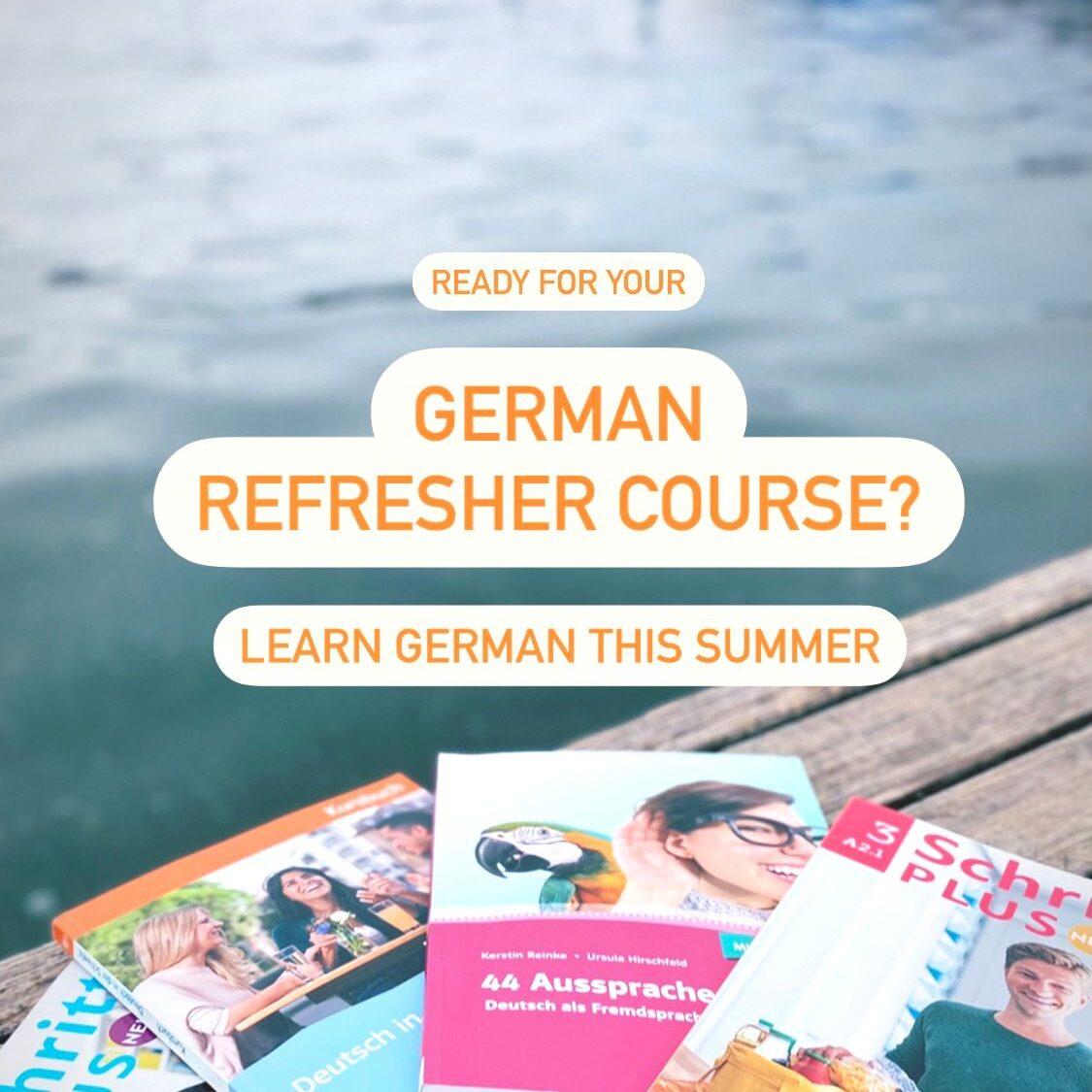 Sprachkontakt German Refresher Session